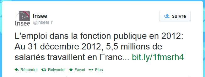 Tweet INSEE 23 avril 2014 00h30