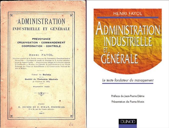 """""""Le texte fondateur du management"""" d'après Dunod en 1999"""